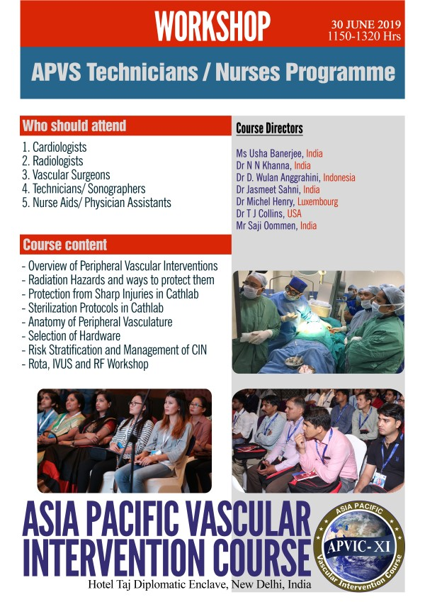 Asia Pacific Vascular Society | Specialists In Vascular Intervention