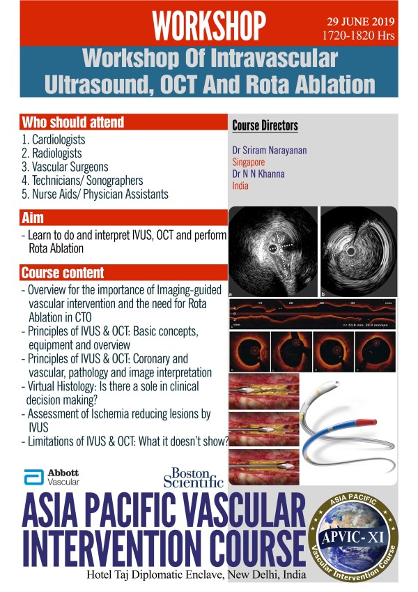 IVUS, OCT & ROTA ABLATION
