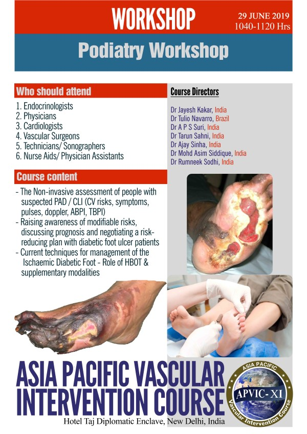 PODIATRY WORKSHOP